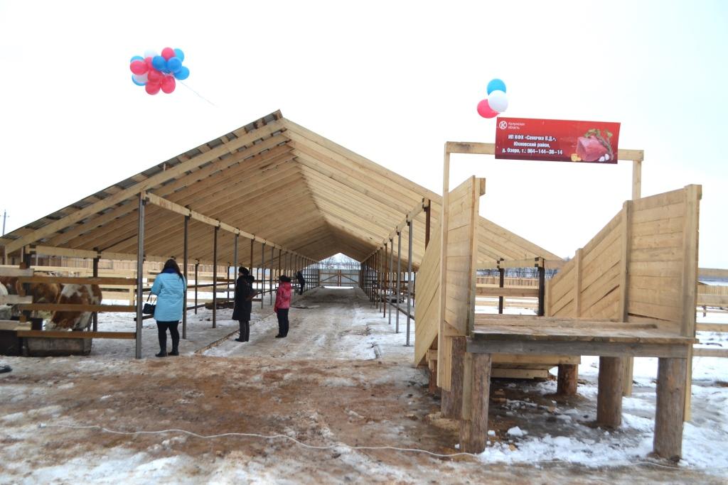 В Калужской области открылась новая мясная ферма