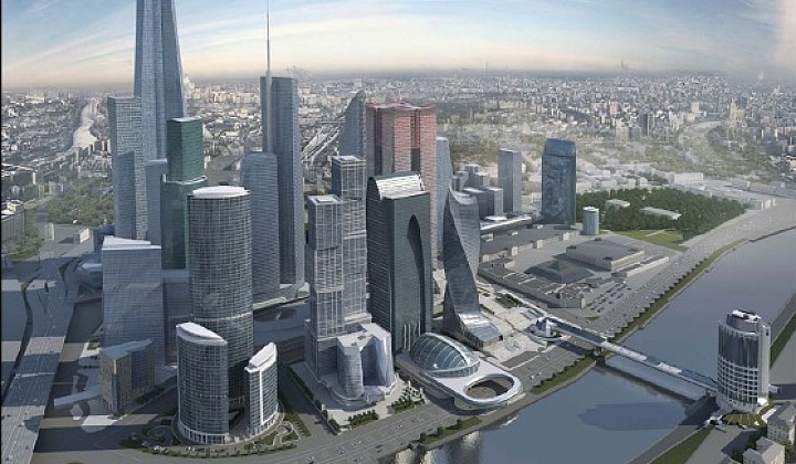 """В ММДЦ """"Москва-Сити"""" закончено строительство башни """"Эволюция"""""""