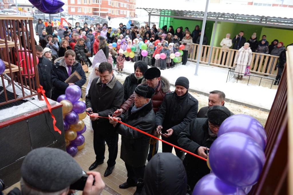 В Липецке состоялось открытие нового детского сада