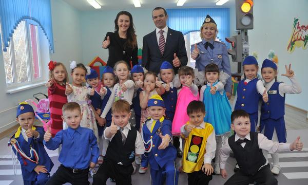 В Чебоксарах открылся новый детский сад