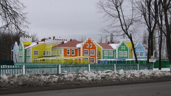 Новый детсад открылся в Воронежской области