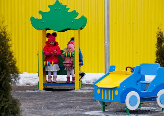 На территории российской военной базы в Южной Осетии построен детский сад для детей военнослужащих
