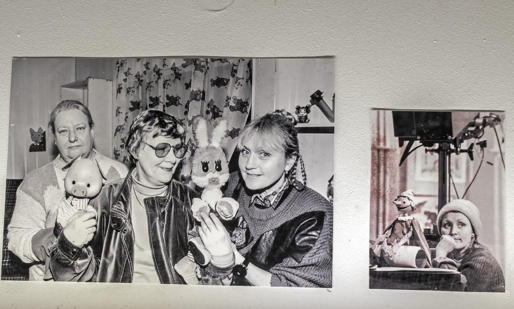 """Фотографии со съемок """"Спокойной ночи малыши!"""" 1970-х"""