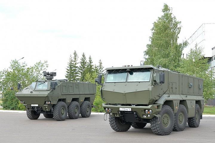Минобороны РФ получило 30 бронемашин «Тайфун»