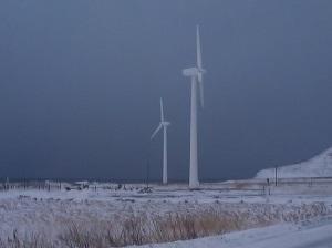 На Сахалине создан первый ветроэнергетический комплекс