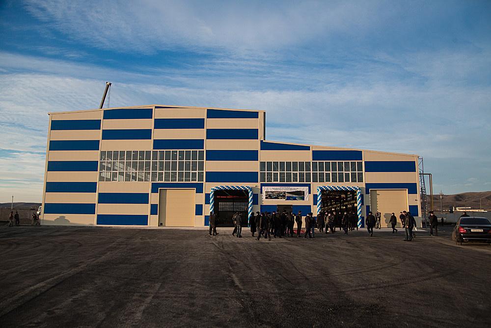 В Ингушетии открылся новый завод по производству полимерных труб и облицовочных материалов