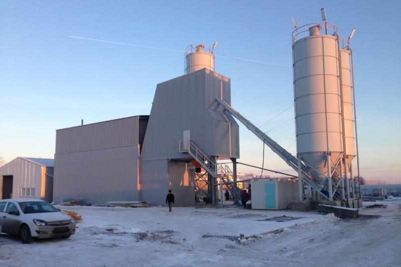 В Екатеринбурге запущен бетонный завод