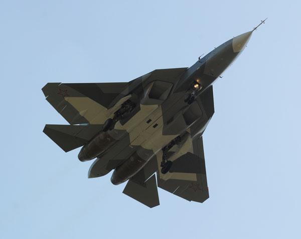 РФ и Индия переходят к созданию образцов экспортного варианта истребителя Т-50