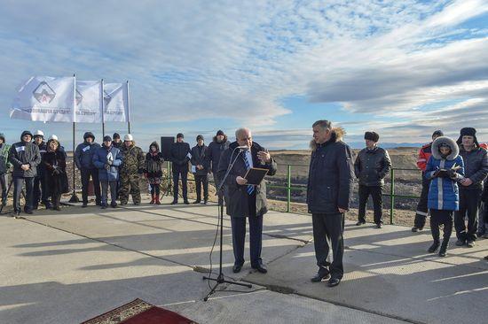 В Хакасии запущен в работу крупнейший в России Аршановский разрез