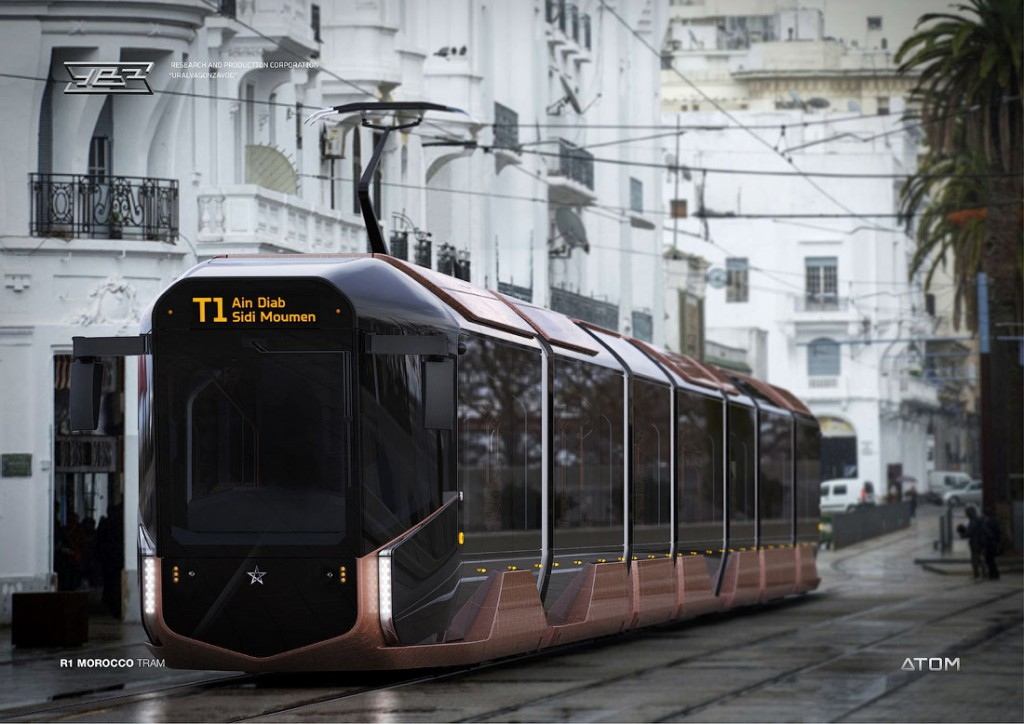 Серийная версия трамвая R1 УВЗ