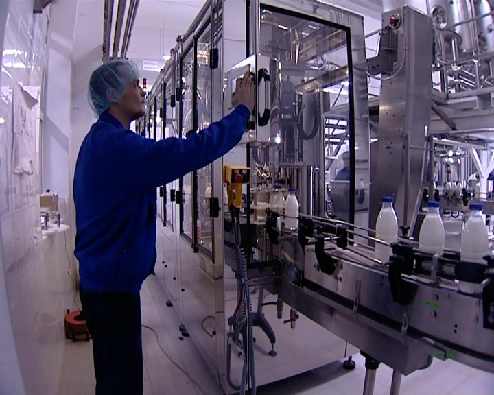 В Оренбурге запущено новое молочное производство