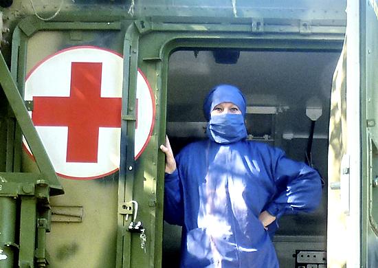 На вооружение медицинских подразделений ВДВ поступили новые мобильные полевые госпитали