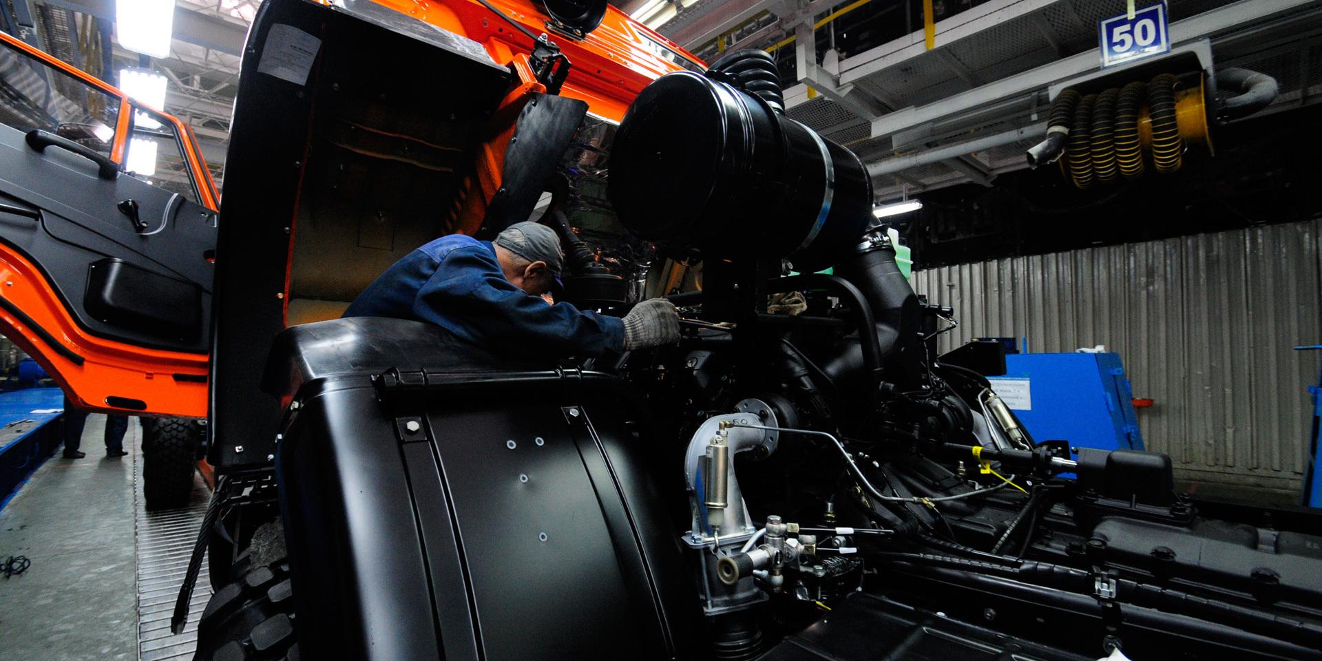 КАМАЗ начал разработку первого в России беспилотного автомобиля