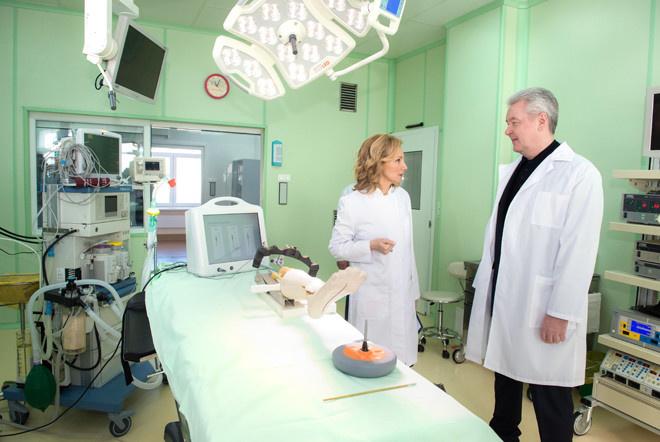В Москве открыт хирургический корпус больницы №29