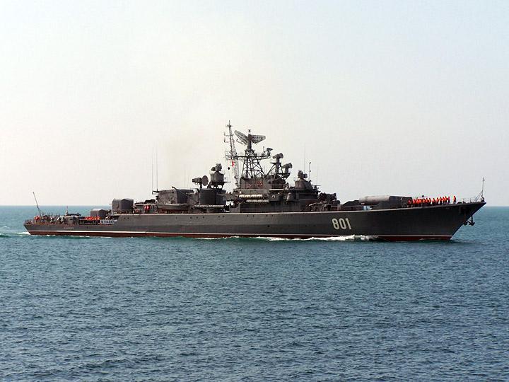 Сторожевик «Ладный» пополнил российскую группировку ВМФ в Средиземном море
