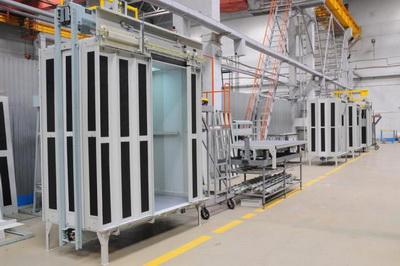 В Новосибирске открылся лифтовый завод