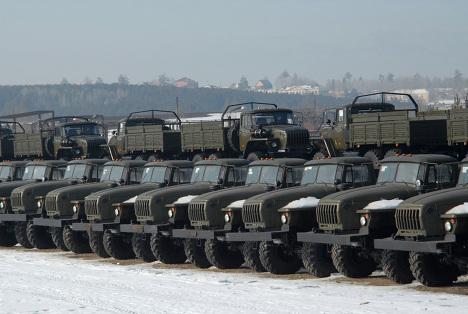 Ремонтные комплексы для работы в полевых условиях поступили в Восточный Военный Округ