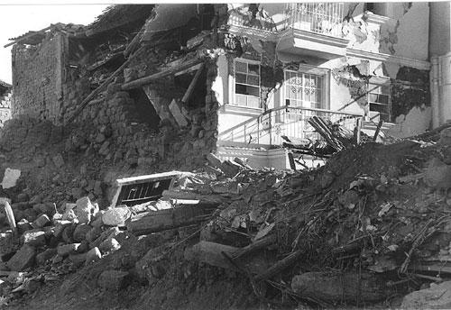 После землетрясения, 1970 г.