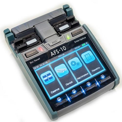 Аппарат для сварки оптоволокна «Макстелком» AFS-10 на 80% состоит из российских комплектующих
