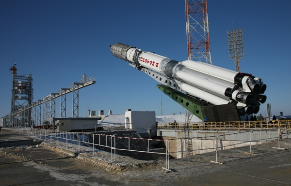 "С Байконура стартовала ракета-носитель ""Протон-М"" с британским спутником Inmarsat"