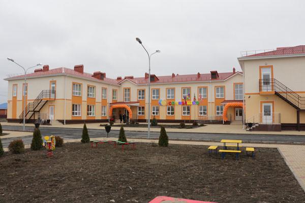 В Краснодарском крае открыт новый детский сад на 140 мест