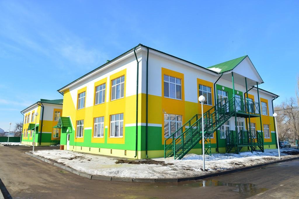 В Саратовской области состоялось открытие двух детских садов