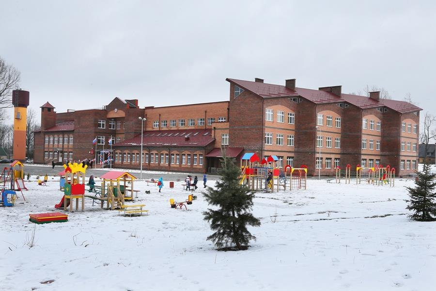 В Калининградской области открылась новая школа