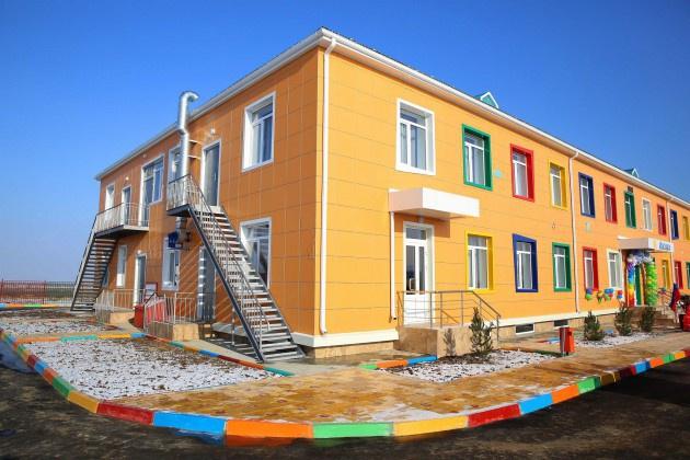 В Дагестане состоялся торжественный ввод в эксплуатацию нового детского сада на 110 мест