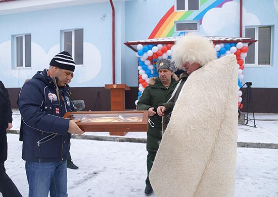 Для детей военнослужащих ЮВО в Чеченской Республике открыт новый детский сад