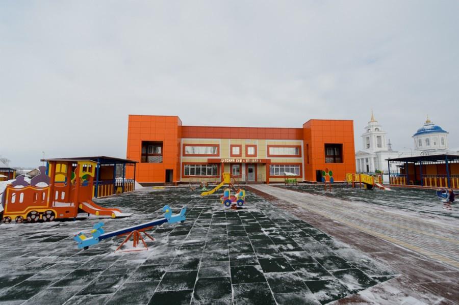 В Воронежской области построен новый детский сад на 150 детей