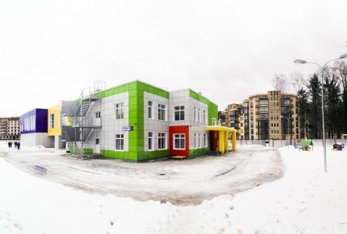 В Москве открыт новый детский сад
