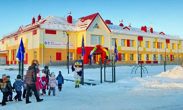 В Удмуртии открылся новый детский сад