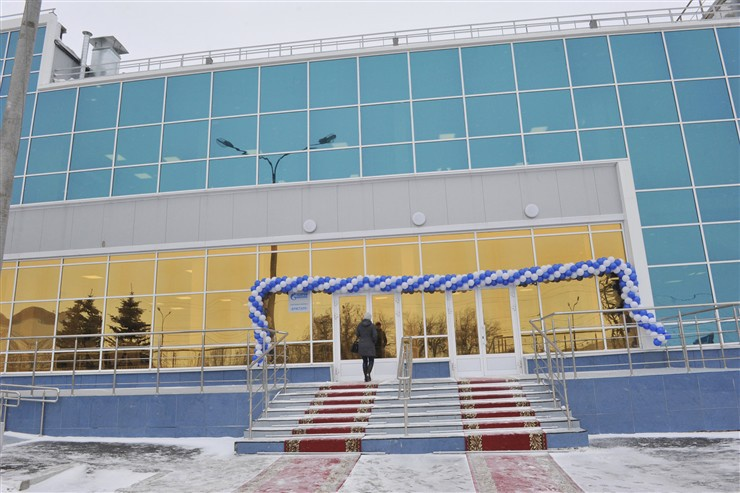 В Самаре состоялось открытие нового ледового дворца