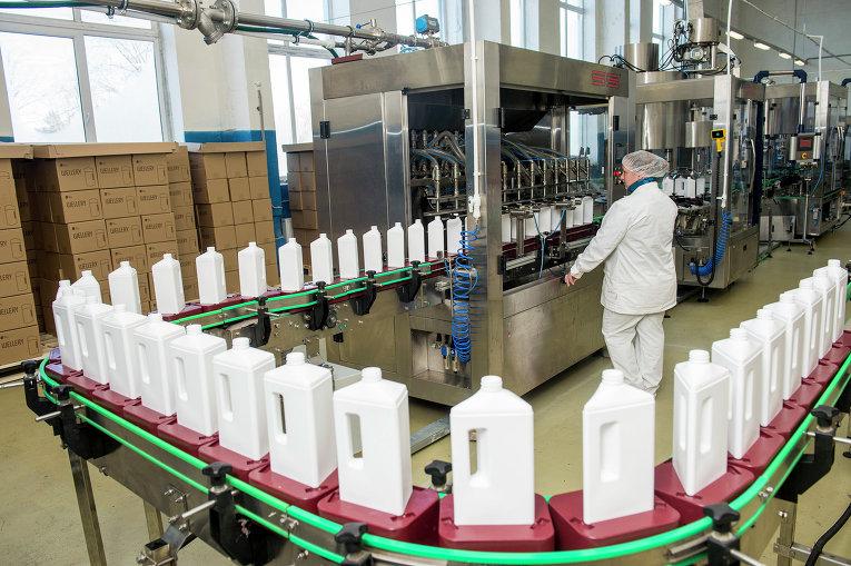 Завод по производству моющих средств запущен в Ленинградской области