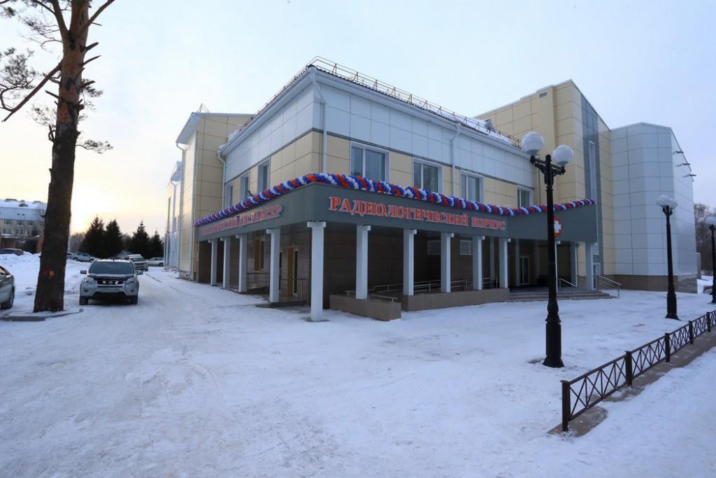 В Томске открылся новый корпус онкодиспансера