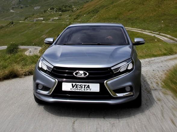 Первый кузов Lada Vesta спущен на конвейер