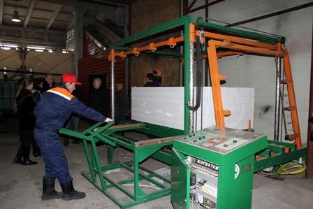 Новый завод по производству пенополистирола открылся в Магадане