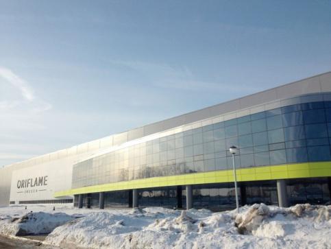 Шведская Oriflame открыла производственный комплекс в Ногинске