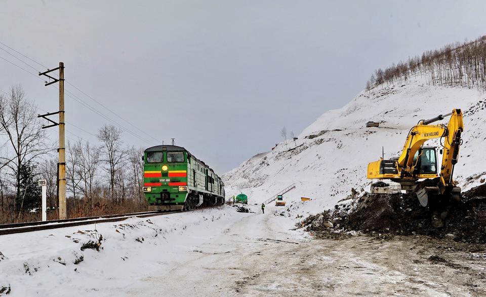 В Хабаровском крае открыт железнодорожный разъезд Хумма
