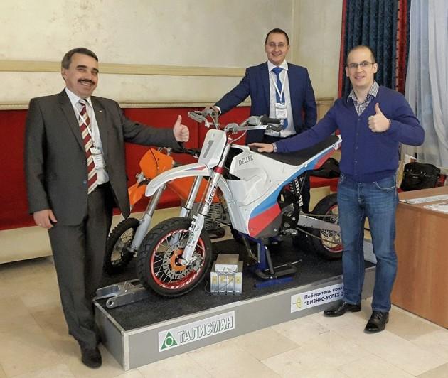 Первый российский электромотоцикл превзошел зарубежные аналоги