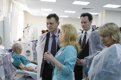 Новый центр гемодиализа запущен в Волгоградской области