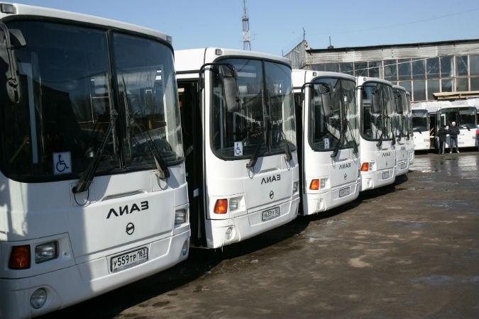 «Группа ГАЗ» поставила новые газовые автобусы ЛИАЗ в Самару