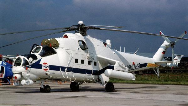 Партию новых боевых вертолетов Ми-35М получил Западный военный округ