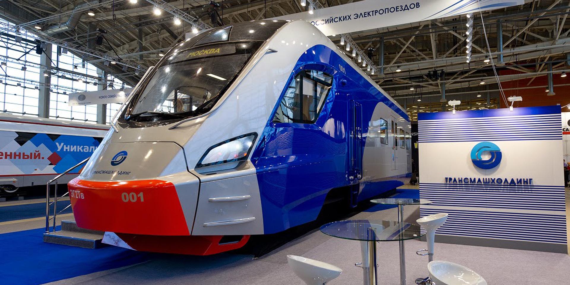 Новейший российский электропоезд отправлен на испытания