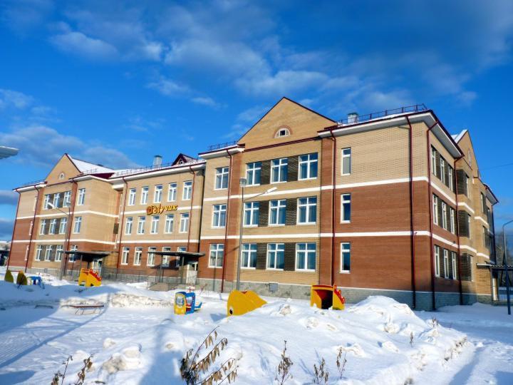 В Свердловской области открыли новый детский сад на 240 мест
