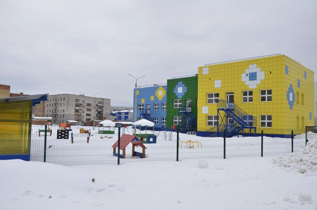 В Коми открыт новый детский сад «Калейдоскоп»