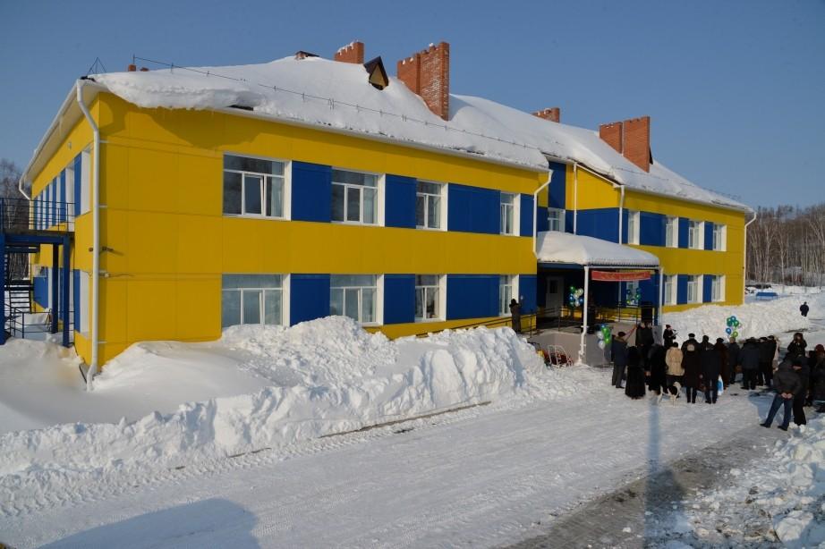 В селе Кондон Солнечного района состоялась церемония открытия нового детского сада.