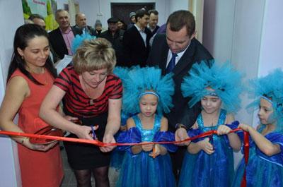 В Оренбургской области состоялось открытие нового детского сада