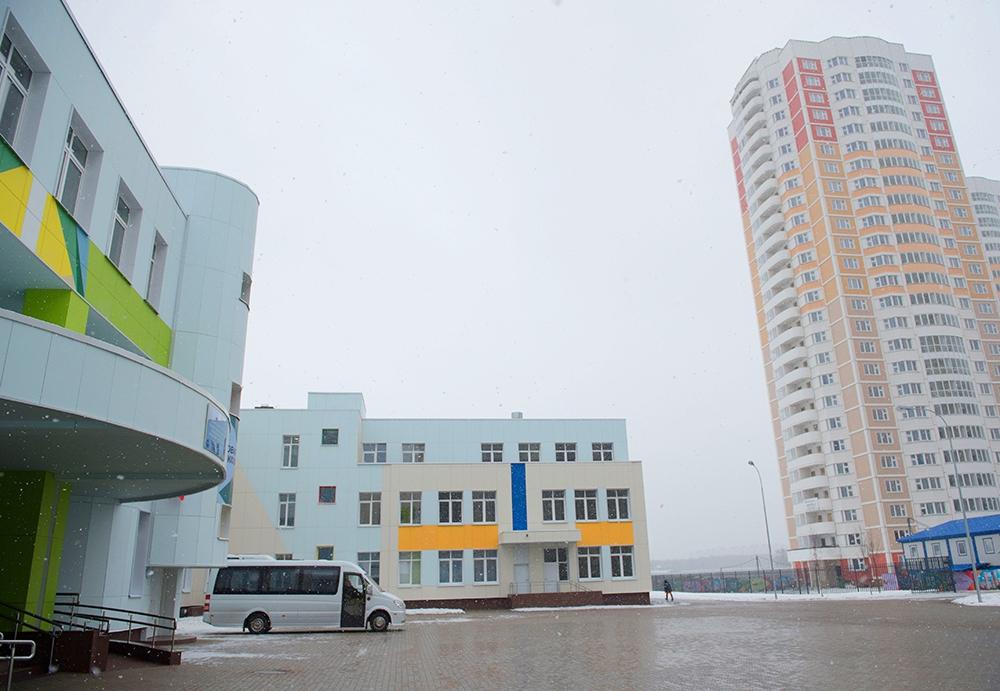 Современный учебный комплекс открылся в городе Московский