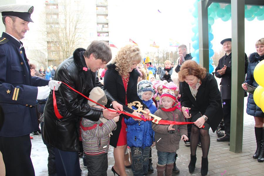 В Калининградской области состоялось открытие нового детского сада для 240 малышей